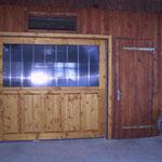 Garagentor elektrisch mit Fernbedienung (Klappe)