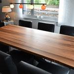 Tischplatte Nussbaum EU 6