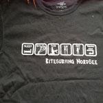 Das erst Kitesurfing-Nordsee T-Shirt 2007