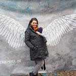 vorne Engel - hinten Flügel