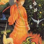 Ange à la Licorne