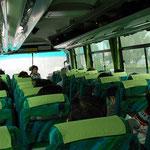 バス車内にて