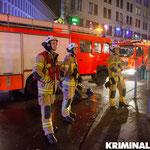 Freiwillige Feuerwehr Mahlsdorf an der Einsatzstelle.|Foto: Christopher Sebastian Harms