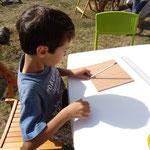 L'atelier de création de cadran solaire