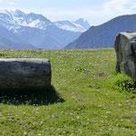 La montée vers la cabane d'Icheus offre de beaux points de vue sur la vallée d'Aspe