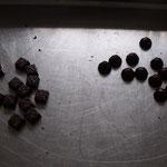 Le résultat : 3 sortes de chocolats goûteux, orginiaux, qui ont fait l'unanimité. Une collaboration réussie !