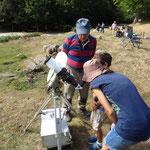 Observation du soleil au télescope