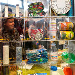 Sensibilsation aux déchets et gaspillage alimentaire réaliséee par une collectivité pendant un rassemblement scolaire