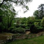 La visite du parc s'est faite en compagnie de Véronique Lörtscher, paysagiste
