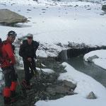 Beginn des Gletschers