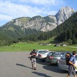 Parkplatz Ramsau 1019m