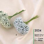 gipsophila panna e bianca bombè