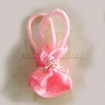 sacchetto borsina con manici, color rosa € 2,00