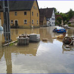 Hochwasser Veringenstadt 01.06.2013