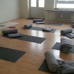 Yoga ist gleich dran