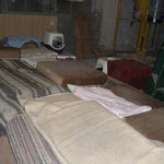 Schlafplätze innen
