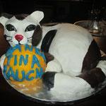 """die """"Dankeschön""""-Torte für Tina Rauch"""