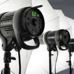 無料ストロボ4灯セット( Profoto D1 500 Air、ソフトボックス x 2、アンブレラ x 2)