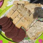 Zu den Thin Mint Cookies hat sich noch Kokoskuchen gesellt.