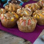 experimentelle Apfel-Muffins