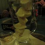 Ingwer-Zitronen-Tee, beeindruckend aufgetürmt