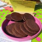 Thin Mint Cookies, mal mit und mal ohne Schoko-Glasur, und innen immer schön schokoladig-minzig