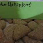 Der Weihnachtsklassiker darf natürlich nicht fehlen: Vanillekipferl