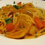 und Spaghetti.