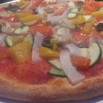 Pizza Vegetaria, auch ohne Käse ein Genuss!