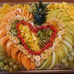 Fruchtplatte pro 100 gr. sF.r 1.90