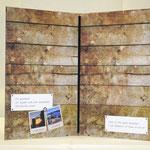 Klemmkarte Bucheinbandpapier