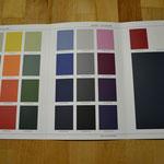 """Farbauswahl """"Baladek"""" für Klemmkarte"""