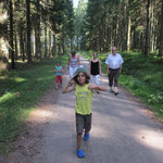 Andis und meine Nordic Walking Strecke