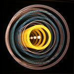 """HALOS X"", 14x14cm, 450€  |  Simona Petrauskaite | Licht- Kunstobjekte"