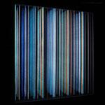 """Parallelen"", 24x24cm, 990€  |  Simona Petrauskaite | Licht- Kunstobjekte"