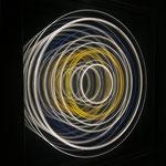 """HALOS VI"", 24x24cm, 990€  |  Simona Petrauskaite | Licht- Kunstobjekte"