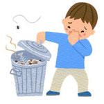 「臭いものに蓋をする イラスト」の画像検索結果