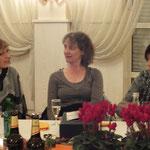 Die drei Übungsleiterinnen Martina Schneider, Silvia Hitzel, Martina Müller