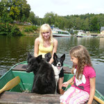 Wir auf Bootstour :)