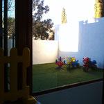 Centro Infantil Virgen de Montserrat. Guardería en Granada. Detalle de las instalaciones