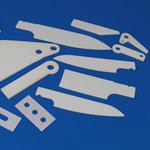 Al2O3 und ZrO2 Messer