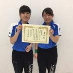 女子団体B準優勝 滋賀医科大学