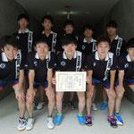 男子団体3位 兵庫県立大学