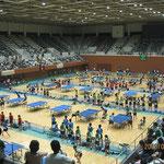 メインアリーナの様子(京都府立体育館)