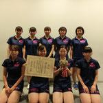 女子団体A優勝:高知工科大学