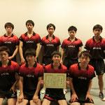 男子団体3位:新潟大学