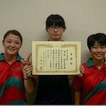 女子団体B優勝 山形大学