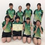 女子団体3位 神戸大学