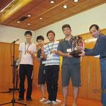 一般の部優勝の東北大学Aチーム