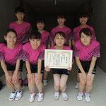 女子団体A3位 北海道大学